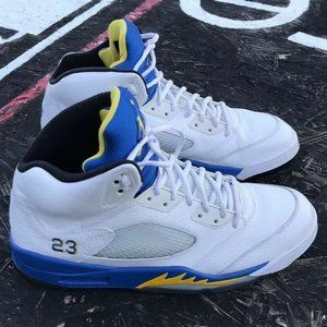 Jordan 5 White Laney Size 12